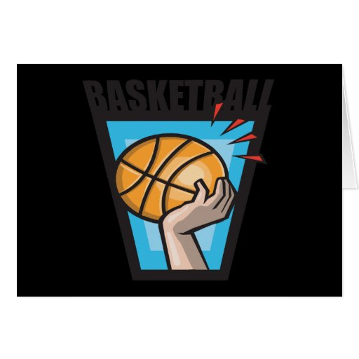 Basketball Greeting Cards