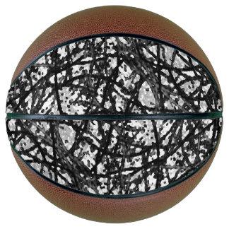 Basketball Grunge Art Abstract