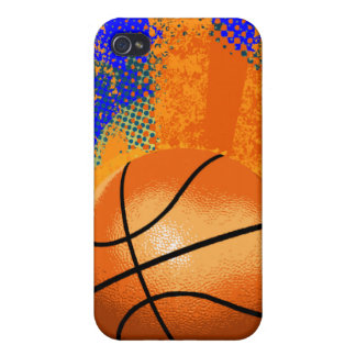 basketball grunge  cover for iPhone 4