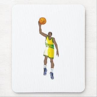 Basketball guy mouse pad
