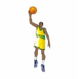 Basketball guy photo cutouts