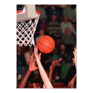 Basketball Hands Card