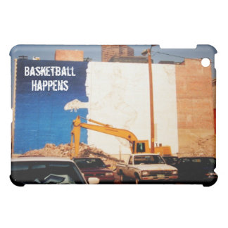 Basketball Happens: Wall Painting Cover For The iPad Mini