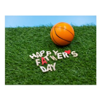 Basketball Happy Father's Day Card