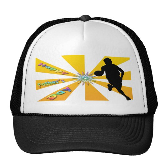 Basketball - Happy Father's Day Hat