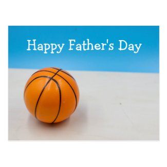 Basketball Happy Father's Day    Postcard