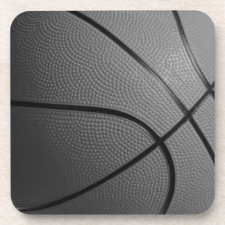 Basketball hard plastic coaster
