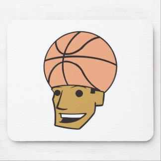 basketball head mouse pad