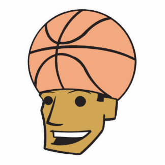 basketball head statuette