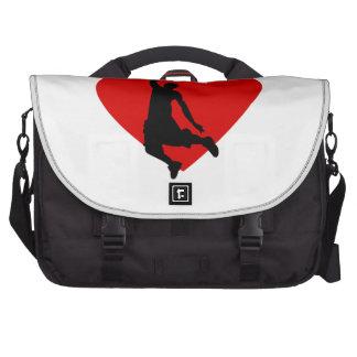 Basketball Heart Bags For Laptop