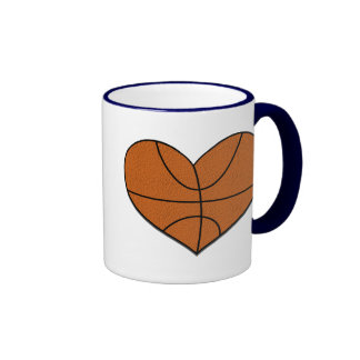 Basketball Heart Mug