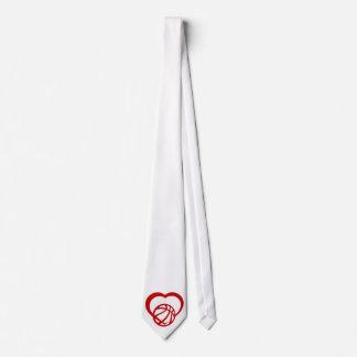 Basketball Heart Tie