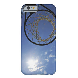 Basketball Hoop and the Sun, against blue sky Barely There iPhone 6 Case