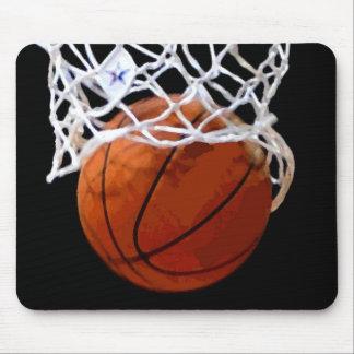 Basketball Hoop Artwork Mousepad
