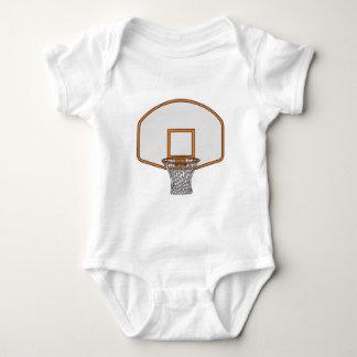 basketball hoop baby bodysuit