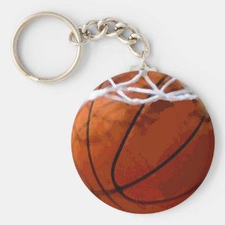 Basketball Hoop & Ball Keychain