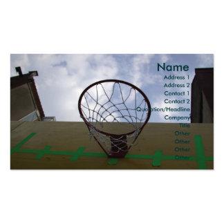 Basketball Hoop Business Card