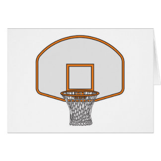 basketball hoop card