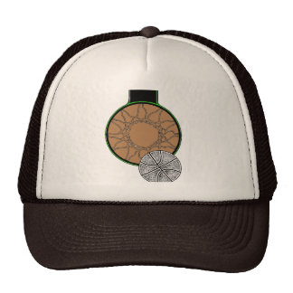 BASKETBALL HOOP TRUCKER HAT
