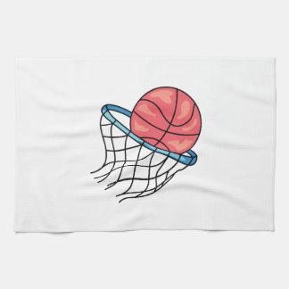 BASKETBALL HOOP HAND TOWEL