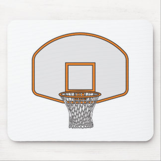 basketball hoop mouse pads
