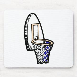 Basketball Hoop Mousepad