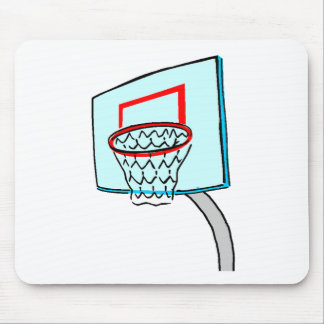 Basketball Hoop Mousepads