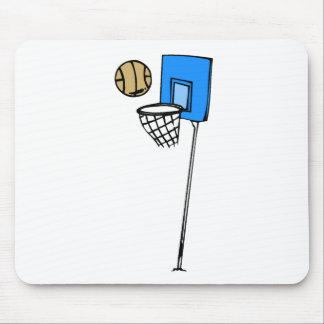 Basketball Hoop Mouse Pad