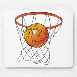 Basketball Hoop Mouse Pad