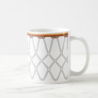 Basketball Hoop Net_black outline_jumpstart java Coffee Mug