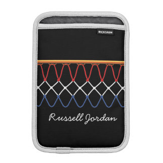 Basketball Hoop Net_Nothing But Net personalized Sleeve For iPad Mini