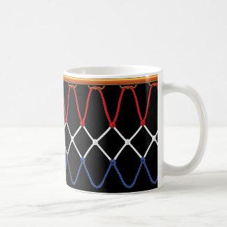 Basketball Hoop Net_red,white,blue Team U.S.A. Coffee Mug