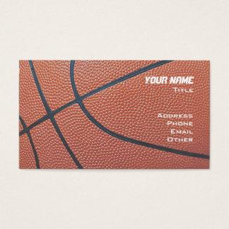 Basketball Hoop Net_texture_red,white,blue Business Card