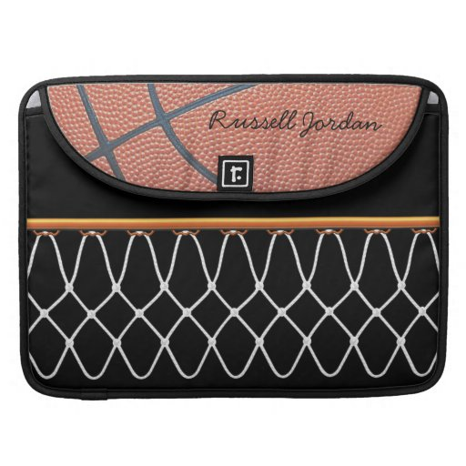 Basketball Hoop_Nothing But Net_classic autograph Sleeves For MacBook Pro