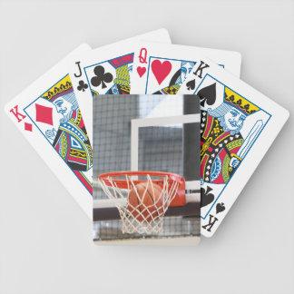 Basketball Hoop Playing Cards