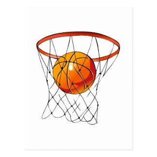 Basketball Hoop Postcard