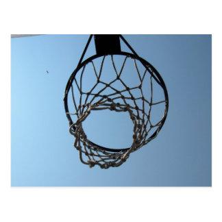 Basketball hoop postcards