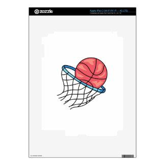 BASKETBALL HOOP DECAL FOR iPad 3
