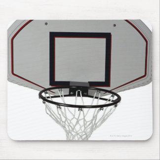 Basketball hoop with backboard mouse pad