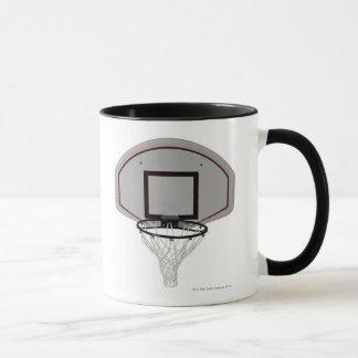 Basketball hoop with backboard mug