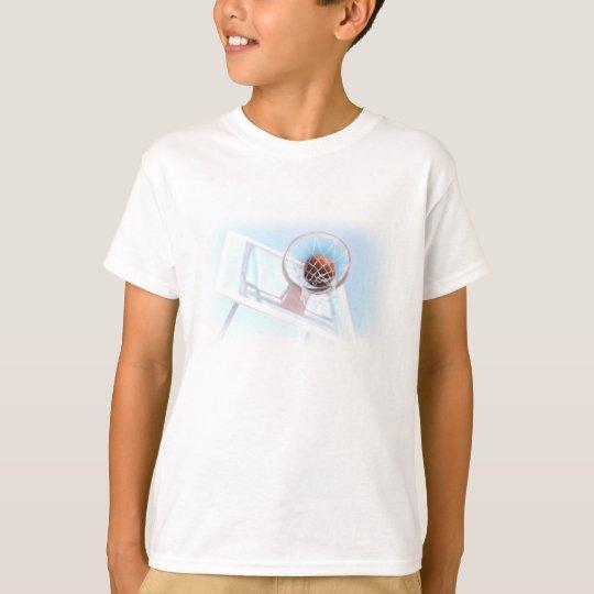 Basketball Hoop With Basketball T-Shirt