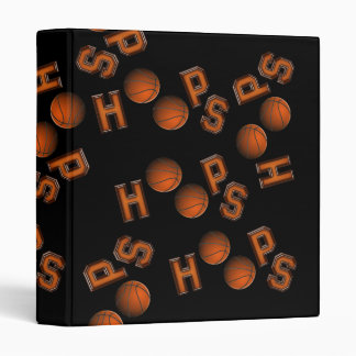 Basketball Hoops Binder
