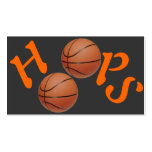 Basketball Hoops Double-Sided Standard Business Cards (Pack Of 100)