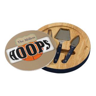 Basketball Hoops Cheese Platter
