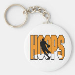 basketball hoops design key chain