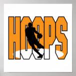 basketball hoops design print