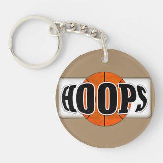 Basketball Hoops Keychain