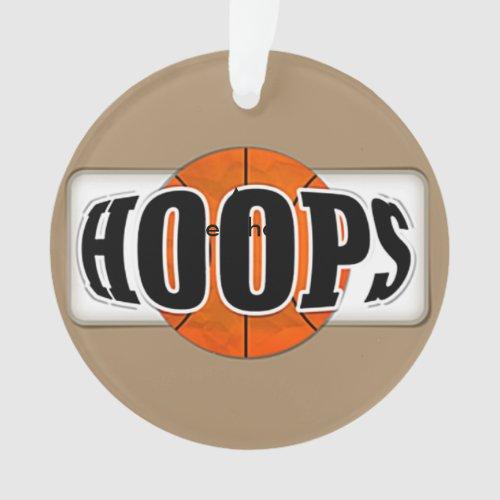 Basketball Hoops Ornament