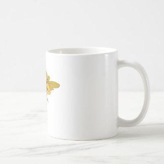 Basketball-Hornet Classic White Coffee Mug
