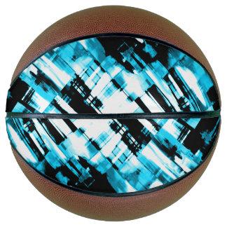 Basketball Hot Blue Black abstract digitalart G253